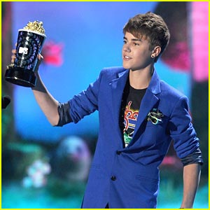 Justin Bieber at the 2011 MTV Movie Awards
