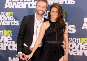 Nikki Reed and Paul McDonald at the MTV Movie Awards